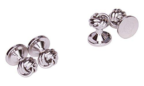 Tuxedo Knot (Sebastien Grey 4 Piece Gordian Knot Tuxedo Studs)