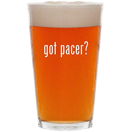 - got pacer? - 16oz All Purpose Pint Beer Glass