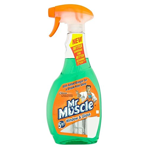 Mr Muscle 5in1 Window & Glass Cleaner (500ml)