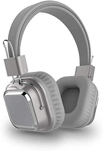 سماعات رأس بلوتوث سلسة وسلسة وسماعات رأس لاسلكية قابلة للطي بتقنية البلوتوث 5.0 مع ميكروفون يدعم بطاقة TF وسماعات رأس ألعاب ستيريو لا يمكن فصلها