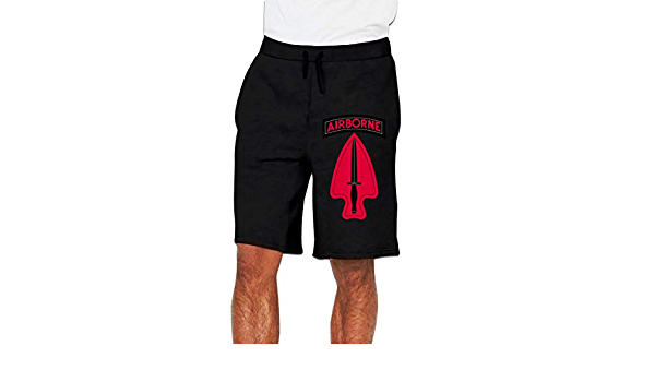 Special Forces Airborne Usasoc Sfod-D Logo Mens Funny Athletic-Fit Classic Stretch Cotton Pants Sweat Pants