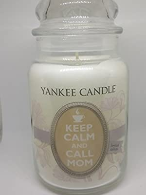 Yankee Candle, Large 22-oz. Jar Candle, Keep Calm and Call Mom