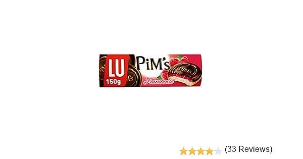 PiMs - Galletas de Bizcocho Rellenas de Frambuesa y Cubiertas de ...