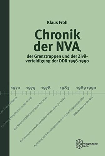Chronik der NVA, der Grenztruppen und der Zivilverteidigung der DDR 1956-1990 (Forum Moderne Militärgeschichte)