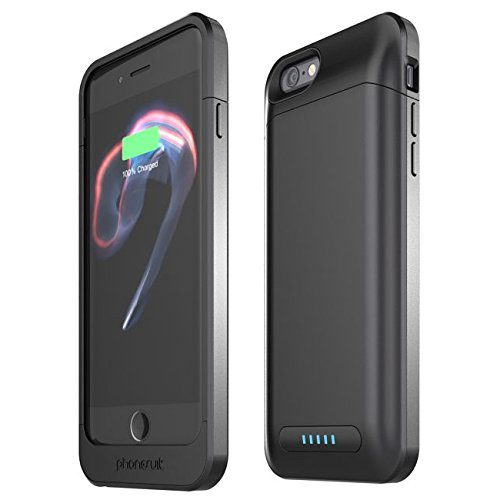 promo code cbf27 89cc7 PhoneSuit Elite Pro Battery Case for iPhone 7 - 3000 mAh - Black ...