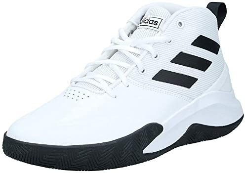 delicado rodear traidor  adidas Own the Game Men's Basketball Shoes, White, 11 UK (46 EU): Buy  Online at Best Price in KSA - Souq is now Amazon.sa