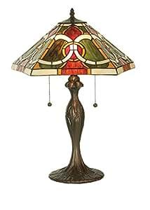 "Meyda Tiffany 81457 Moroccan Table Lamp, 22.5"" H"