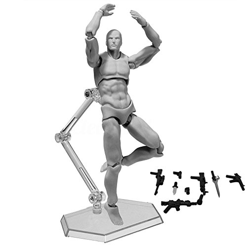 Lznlink Figma Archetype 2.0 Body Kun Doll Action Figure Model For SHF PVC Body-Chan DX Set with Accessories Action Figure Model