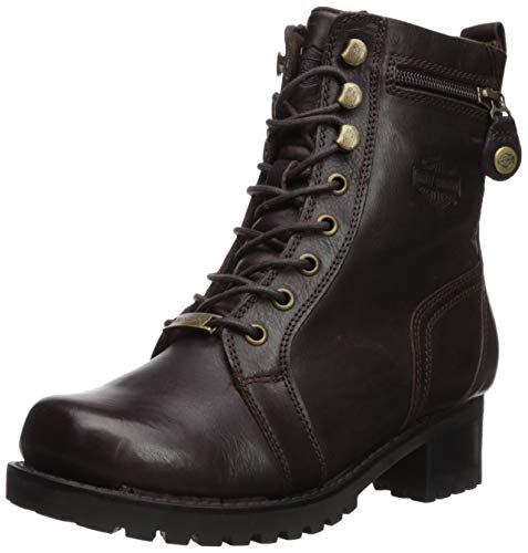 Harley-Davidson Women's Keeler Motorcycle Boot, Brown, 06.0 M US ()