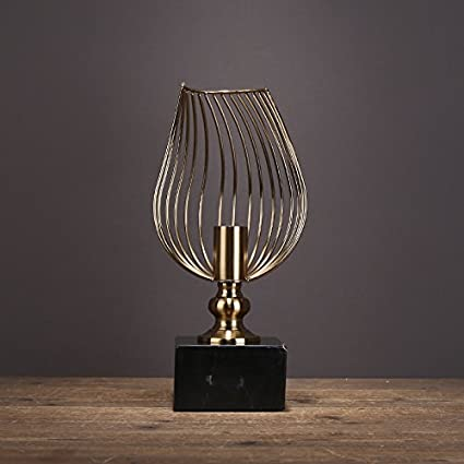 XOYOYO Modern Minimalist Furnishings And Ornaments Alloy Iron Crafts Model Room Hotel Restaurant Creative Decorations,Oy8060B