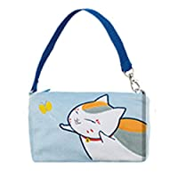 Banpresto 36957C Natsume Book of Friends Madara Catching Butterfly Pouch with Strap, Blue