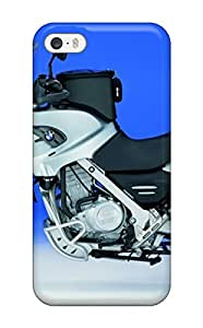 High Grade JeremyRussellVargas Flexible Tpu Case For Iphone 5/5s - Bmw Motorcycle 3119431K48782899