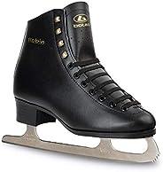 Botas - Model: Robin/Made in Europe (Czech Republic) / Figure Ice Skates for Men, Boys/Color: Black