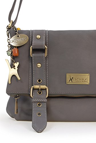 Handbags Femme Abbey Gris Collection Catwalk Fonc Abbey S0f6FRy4qK