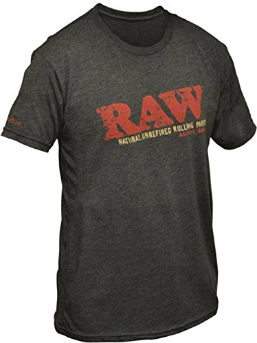 Price comparison product image RAW Rolling Papers Black Unisex T-Shirt (XS)