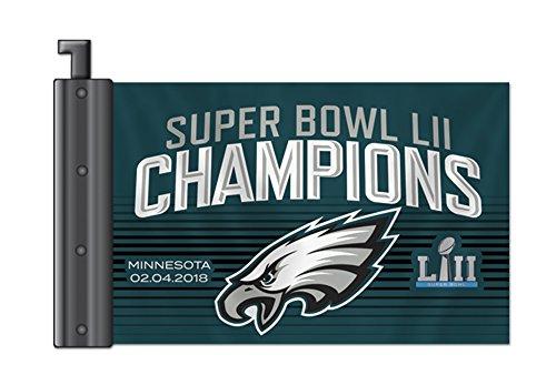 Fremont Die NFL Philadelphia Eagles Super Bowl 52 Champions Antenna Flag