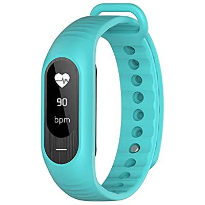 Bozlun Fitness Tracker B15P with Blood Pressure Heart Rate Monitoring Pedometer Calorie Sleep Tracking OLED Display - Green