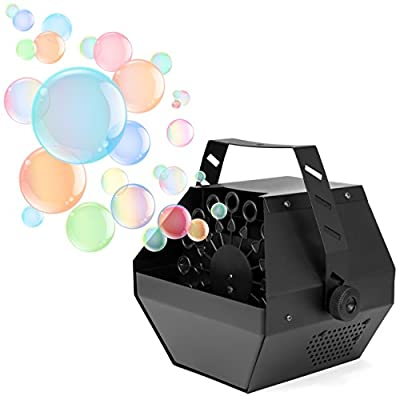 Best Choice Products Portable Indoor Outdoor Professional Metal Automatic Bubble Machine Blower w/ High Output - Black from Best Choice Products