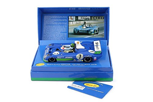 Slot.it Matra-Simca MS 670B #7 Le Mans Winner 1974 Limited Edition Performance Slot Car (1:32 Scale) (10500 Brake)