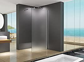 110 x 200 cm Cabina de ducha Lily/10 millimetri cm no transparente ...