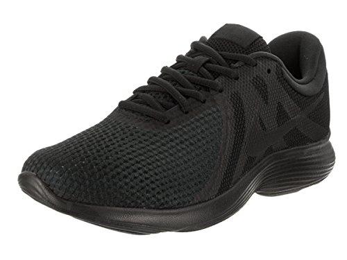 Nike Herren Revolution 4 Laufschuhe Schwarz Schwarz