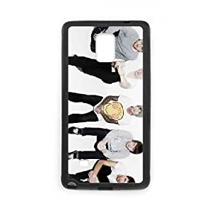 Samsung Galaxy Note 4 Cell Phone Case Covers Black Bring Me the Horizon D2V7C