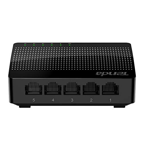 Tenda 5-Port Gigabit Ethernet Desktop Switch -