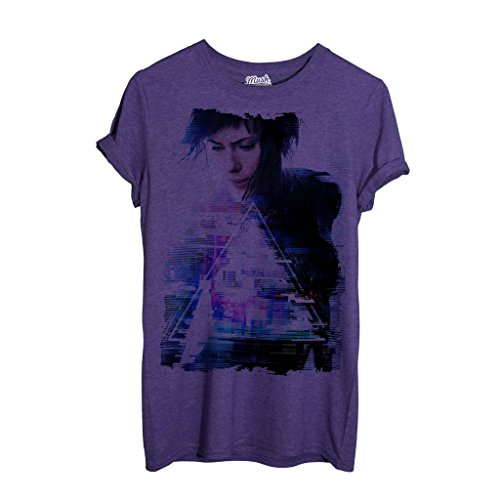 T-Shirt Ghost In The Shell Movie Scarlett - CARTOON by Mush Dress Your Style