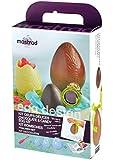 Mastrad F48160 Kit d'Oeufs en Chocolat Silicone Transparent 18 x 7,3 x 28,1 cm