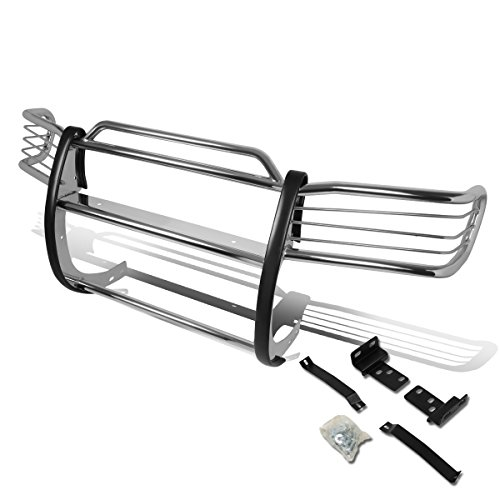 For 96-04 Nissan Pathfinder R50 Front Bumper Protector Brush Grille Guard (Chrome)