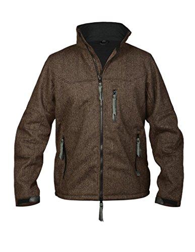 STS Ranchwear Men's Brown Wool Tweed Jacket (Chocolate, - Rugged Chocolate