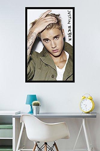 Amazon.com: Trends International Justin Bieber Eyes Wall Poster ...