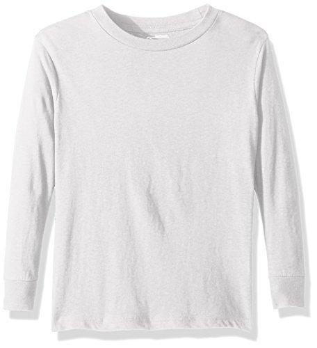 Puma Men's City Long Sleeve Blank Tee, Large, White