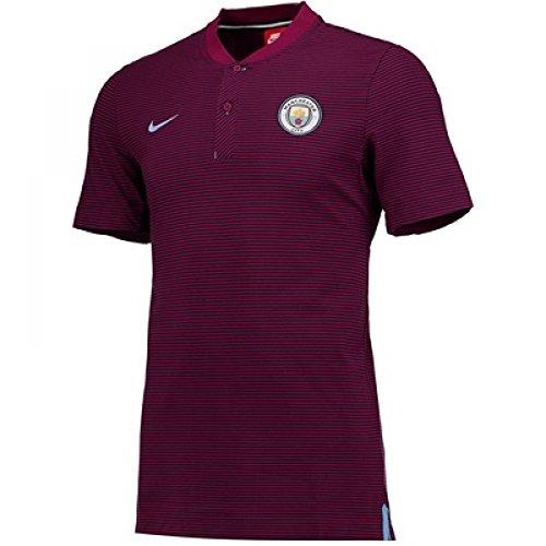 Grand Slam Jacket - 2017-2018 Man City Nike Authentic Grand Slam Polo Shirt (True Berry)