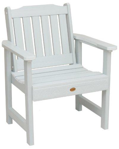 Highwood Lehigh Garden Chair, White