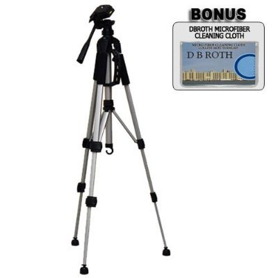 Deluxe 57' Camera Tripod with Carrying Case For The Panasonic Lumix DMC-FZ28 , DMC-FZ30 , DMC-FZ50 , DMC-FZ7 , DMC-FZ8 , DMC-FZ18 Digital Cameras DIGITAL CONCEPTS1 4332033924
