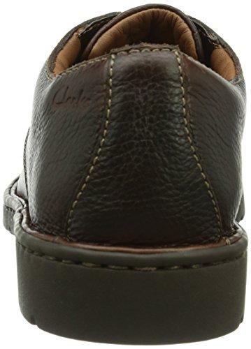ClarksStratton Way - Derby Hombre Marrón (Brown Leather)