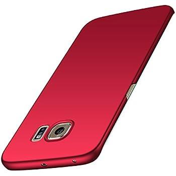 21ac253bd8e anccer Funda Samsung Galaxy S6 Edge, Alta Calidad Ultra Slim Anti-Rasguño y  Resistente Huellas Dactilares Totalmente Protectora Caso de Duro Cover Case  para ...