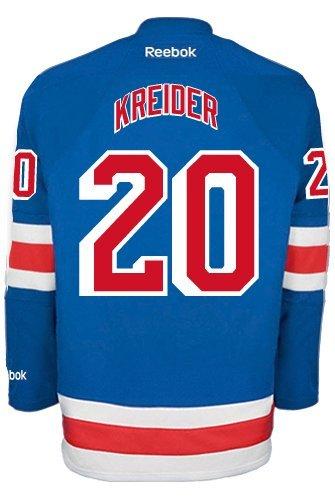 Chris Kreider New York Rangers NHL Home Reebok Premier Hockey Jersey
