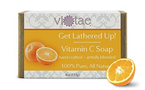 Vi-Tae Organic Vitamin C Soap, 4 oz.