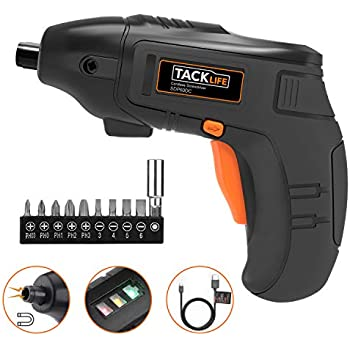 Amazon.com: Kocome 6V Portable Screwdriver Electric Drill Battery ...