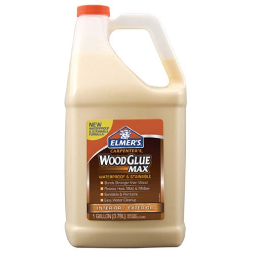 Elmer's E7330 Carpenter's Wood Glue Max, 1 Gallon, Tan