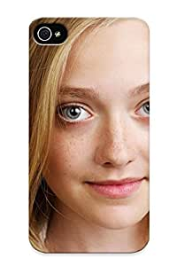 Iphone 4/4s Ikey Case Cover Skin : Premium High Quality Dakota Fanning Case(nice Choice For New Year's Day's Gift)