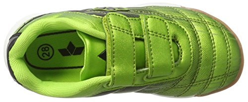 Lico Rockfield V - Zapatillas deportivas para interior de material sintético niños Verde (Gruen/schwarz)