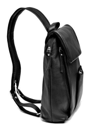 Größe 40 New York schön billig Szuna Damen Leder Cityrucksack (schwarz): Amazon.de: Koffer ...