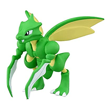 "Takaratomy Official Pokemon X and Y MC-054 2"" Scyther Action Figure"