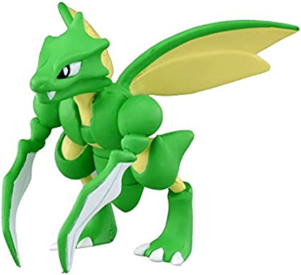 Takaratomy Official Pokemon X and Y MC-054 2 Scyther Action Figure Japan VideoGames 819769