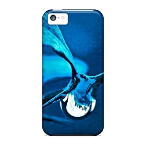 Durable Defender Cases For Iphone 5c Covers(blue Dream)