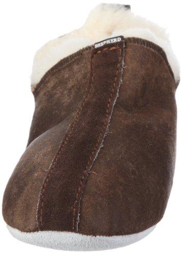 Shepherd HENRIK 620-5336 - Zapatillas de casa para hombre Marrón (Braun (Oild Antique 53))