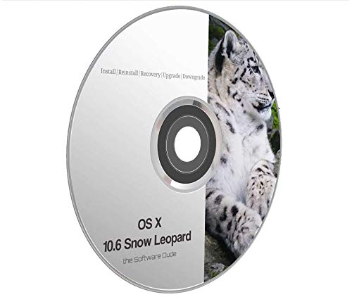 Amazon com: Mac OS x 10 6 Snow Leopard Boot DVD Install
